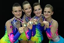 Břeclavské gymnastky. Ilustrační foto.