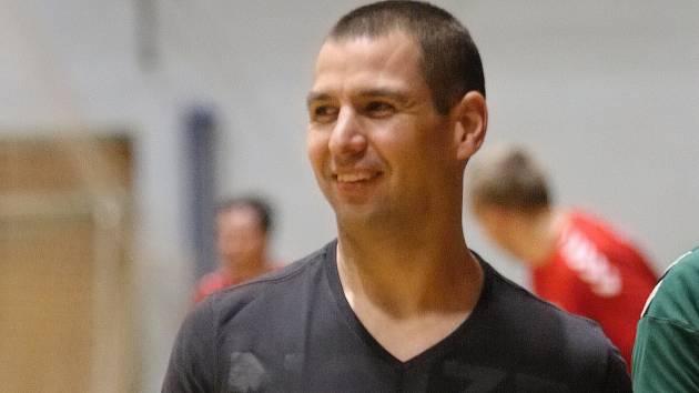 Trenér Petr Semerád.