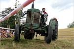 Podivínský Mazec už po desáté přitáhl milovníky traktorů domácí i tovární výroby.