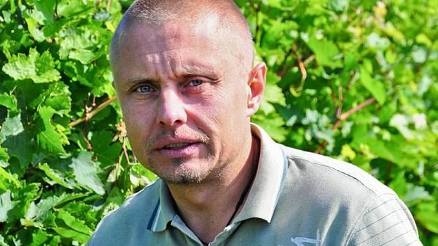 Ředitel pouzdřanského vinařství Kolby Martin Nesvadba.