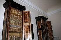 Nově otevřená knihovna valtického zámku.