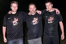 Roman Příkazský je kromě tahouna týmu i hospodářem klubu.