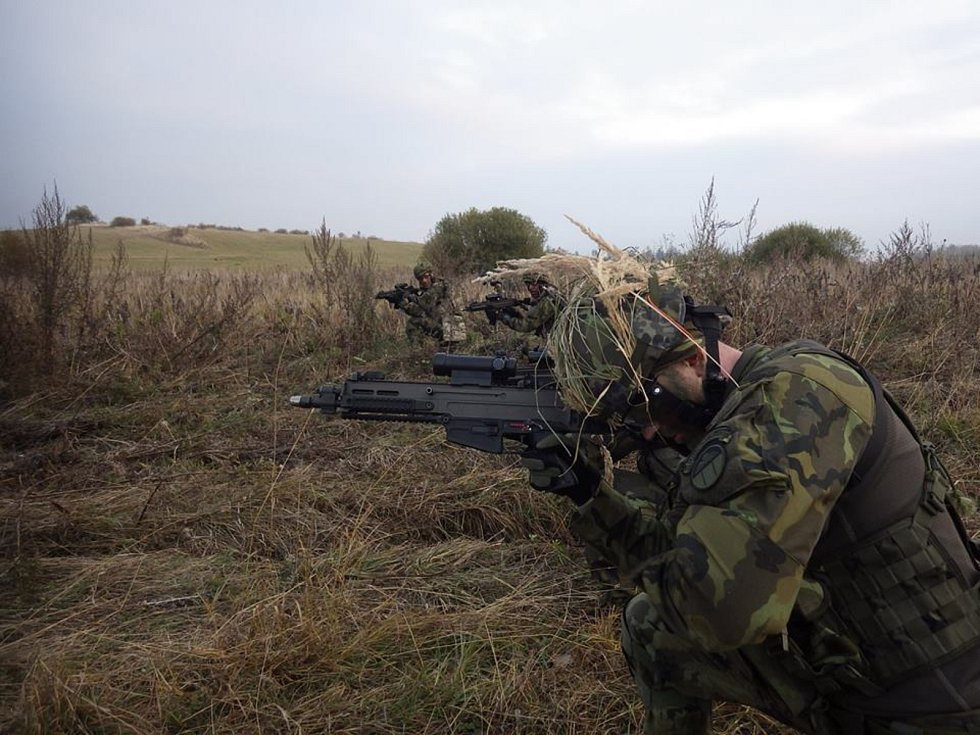 Voják Petr Štědrý by se mohl stát další členem zahraničí vojenské mise v Mali.