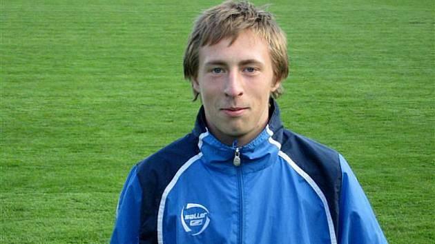 Záložník fotbalové devatenáctky MSK Milan Sycha.