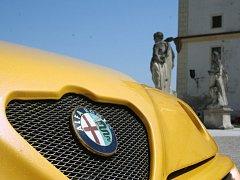 Automobily značky Alfa Romeo ve Valticích