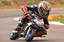 Matyáš Pálka první závod v Castrezzatu nedokončil, ale ve druhém vyjel pěkné čtvrté místo.