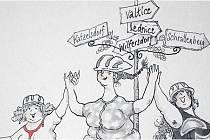 Do Valtic se sjedou karikaturisté