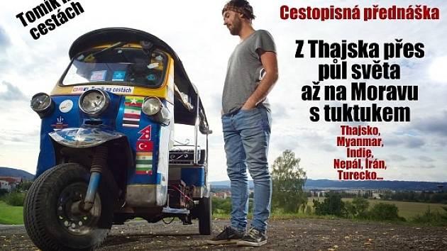 Tuktuk tříkolka přednáška