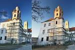 Břeclavská radnice zveřejnila snímky z nově opravené jižní věže tamního zámku.
