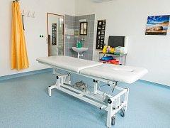 Nově otevřené oddělení rehabilitace v hustopečské nemocnici. Foto: Jihomoravský kraj