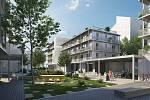 Třetí nejlidnatější kraj v republice je ten Jihomoravský. Při brněnské Francouzské ulici vyroste 93 družstevních bytů.