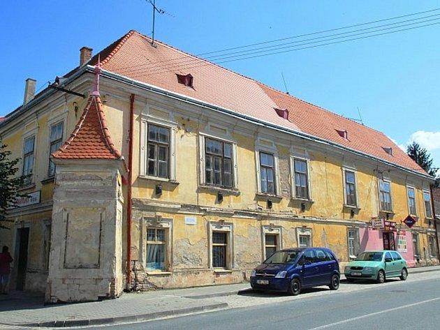 Pohořelice - bývalý hotel Pfann.