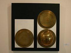 Tvorba Huga Demartiniho byla ovlivněna geometrickou abstrakcí.