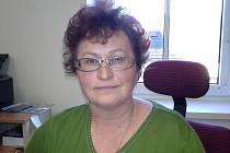 Jana Studýnková z Charity Břeclav.