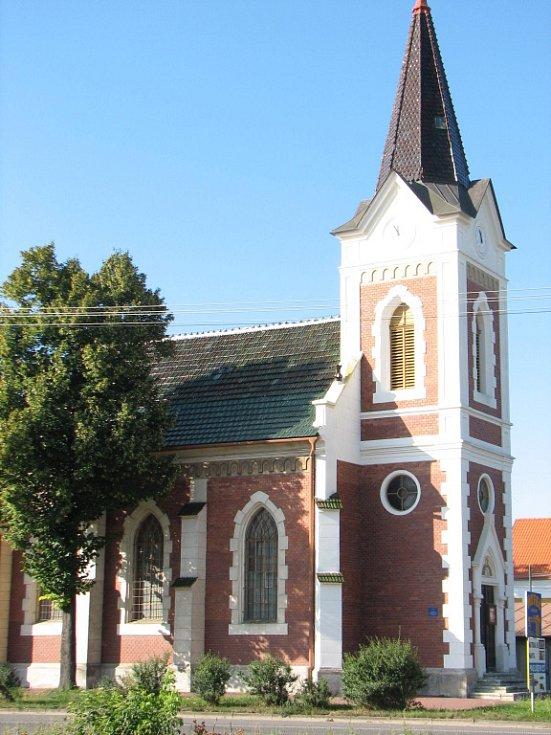 Mikulovský kostel svatého Mikuláše.