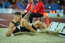 Dálkař Radek Juška se chce na olympijské hry v Tokiu dostat výkonem za hranici 822 centimetrů.