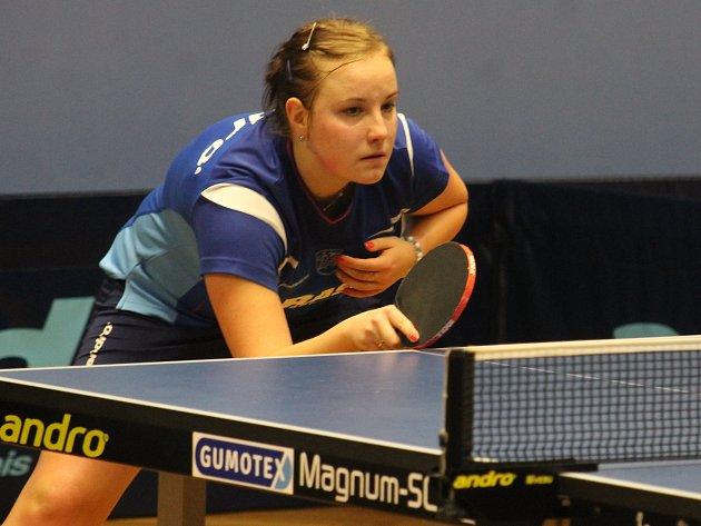 Karin Adámková z MSK Břeclav.