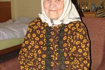 Marie Štvrtecká z Lanžhota
