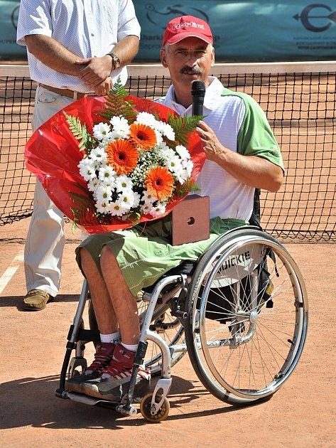 Miroslav Brychta zBřezí hraje tenis na vozíku na mezinárodní úrovni.