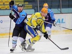 Břeclavští hokejisté dokázali vyhrát na ledě Valašského Meziříčí.