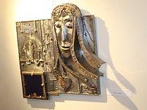 Břeclavký umělec František Varga vystavuje svá díla v břeclavské synagoze.