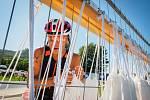 Čtvrtý ročník halfironmanského triatlonu na Pálavě opanoval Petr Soukup. Foto: Kamila Voděrová