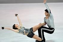 Český taneční pár Myslivečková-Brown mají za sebou první ostré starty.