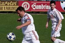 Lanžhotský Petr Darmovzal byl v utkání s Bořeticemi u všeho důležitého.