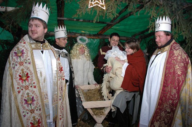 Betlém ve Velkých Pavlovicích