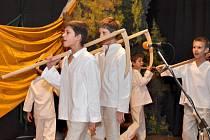 Koncert folklórního souboru Hanýsek v Šakvicích.