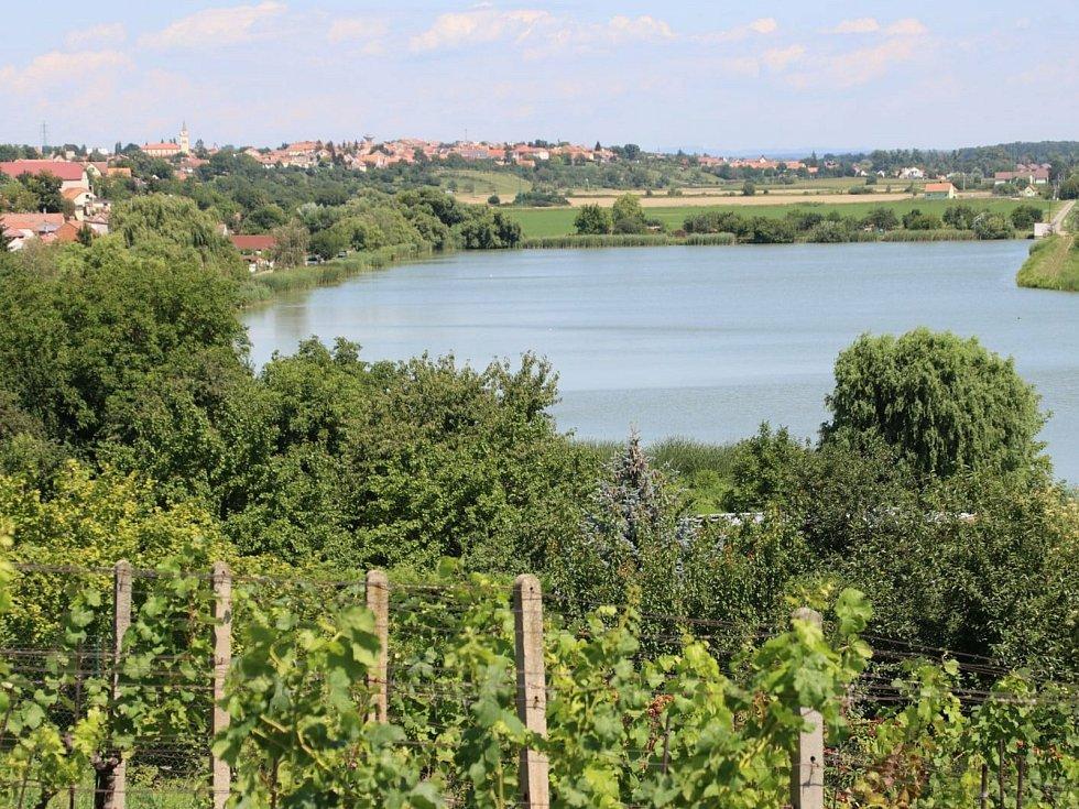 Kostický rybník.