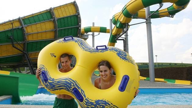 ILUSTRAČNÍ FOTO: Aqualand Moravia v Pasohlávkách.