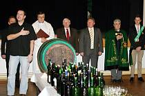 Žehnání mladého vína v Bořeticích.