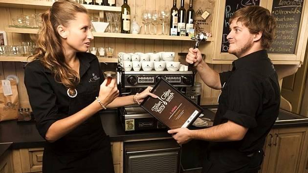 Kateřina Kopecká a Filip Hrdina z valtického Café Liechtenstein.