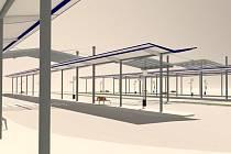 Takto bude brzy vypadat nové autobusové nádraží v Břeclavi.