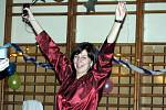 Pyžamový ples byl v sobotu večer hlavní kulturní akcí v Hruškách. Ujít si ho nenechaly desítky tamních obyvatel. Většina nelitovala a dobře se bavila.
