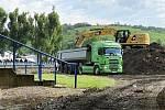 Hustopečští rekonstruují městský stadion za třiatřicet milionů korun.