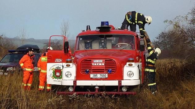 Dobrovolní hasiči z Březí.
