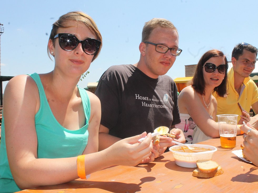Milovníci meruněk se sešli v sobotu při Velkopavlovickém meruňkobraní. Kromě ochutnávky specialit z tohoto ovoce si mohli i zasoutěžit.