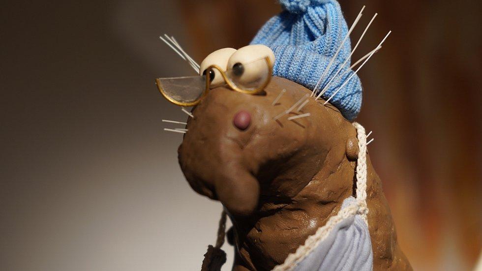 Projekt Hovnays režiséra loutkových a animovaných filmů Cyrila Podolského.