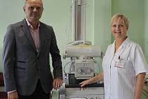 Vedení břeclavské nemocnice představilo některé nové přístroje, jako například pojízdné rentgeny, či vylepšení těch stávajících.