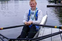 Břeclavský veslař Timon Vlašic.