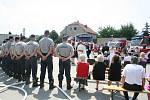 Své ano si řekly hned tři hasičské páry ze Staré Břeclavi.