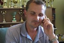 Lanžhotský rodák Josef Jírava, trenér fotbalových dorostenců MSK Břeclav U16.