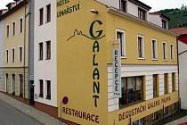 Mikulovský hotel a vinařství Galant.