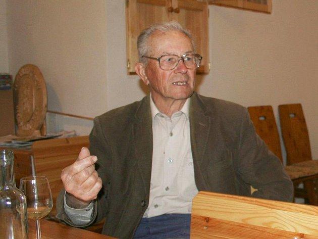 Novoveský vinař Lubomír Glos.