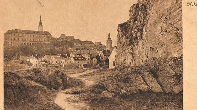 Takzvanou Olivetskou horu zachycuje historická fotografie.