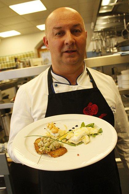 Kuchař Nenad Kukurin vařil ve velkopavlovickém penzionu André.