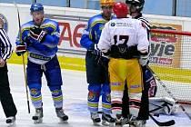 Před brankou Břeclavi bylo v utkání se Senicou rušno.