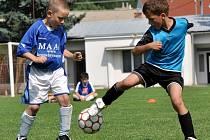 Fotbalové naděje břeclavského okresu se utkaly na turnaji v Hustopečích.